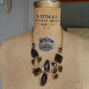 Big chunky dangle necklace adjustable